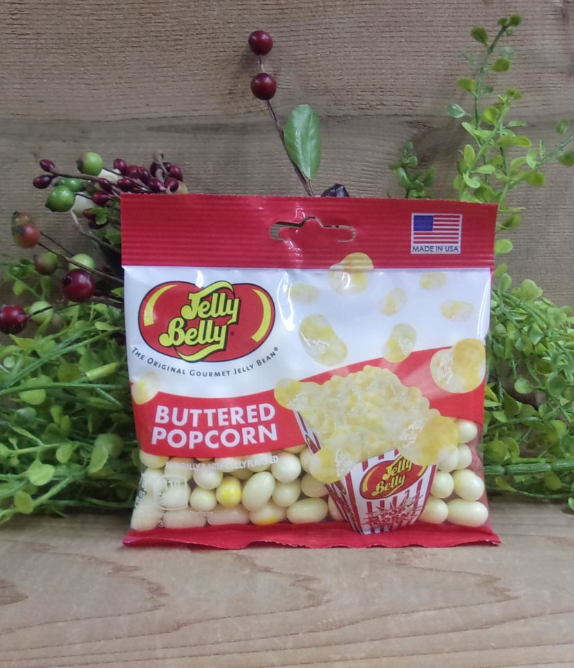 Buttered Popcorn Jelly Beans 3 5 Oz Jelly Belly Osceola Cheese